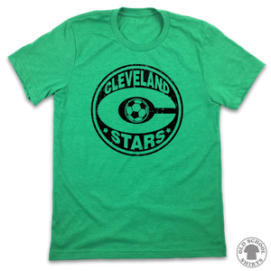 Cleveland Stars Soccer - Old School Shirts- Retro Sports T Shirts