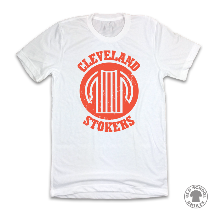 Cleveland Stokers - Old School Shirts- Retro Sports T Shirts