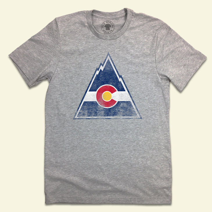 Colorado Rockies Hockey gray T-shirt