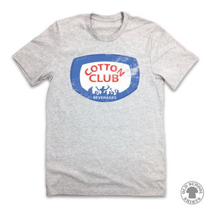 Cotton Club Beverages - Old School Shirts- Retro Sports T Shirts