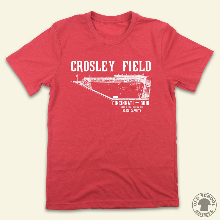 Crosley Field - Old School Shirts- Retro Sports T Shirts
