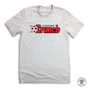 Cleveland Crunch Indoor Soccer - Old School Shirts- Retro Sports T Shirts