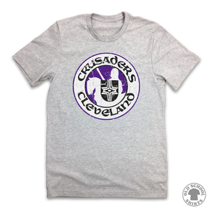 Cleveland Crusaders - Old School Shirts- Retro Sports T Shirts