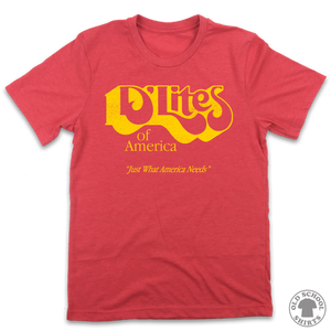 D'Lites of America - Old School Shirts- Retro Sports T Shirts