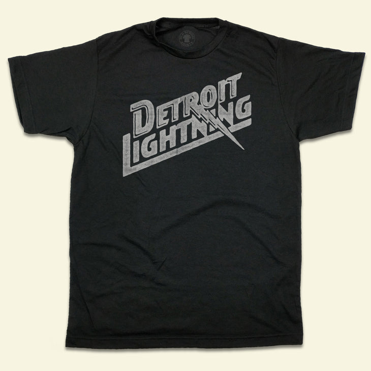 Detroit Lightning Indoor Soccer MISL T-shirt