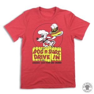 Dog n Suds Drive In - Old School Shirts- Retro Sports T Shirts