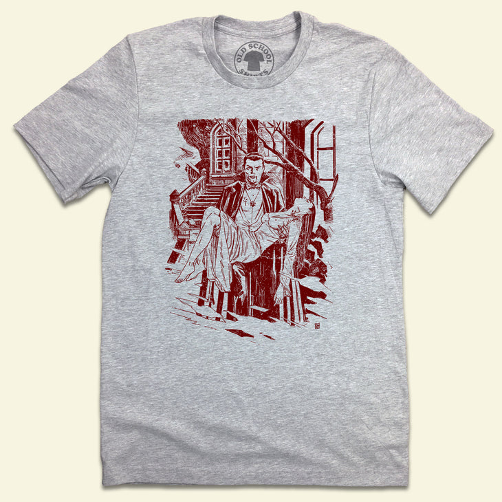 Vintage Dracula Illustration T-shirt