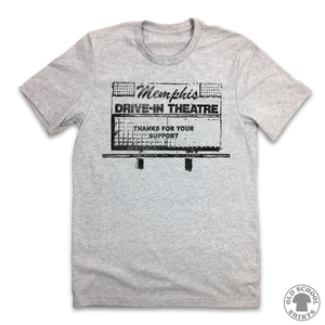 Memphis Drive-In Theatre - Old School Shirts- Retro Sports T Shirts