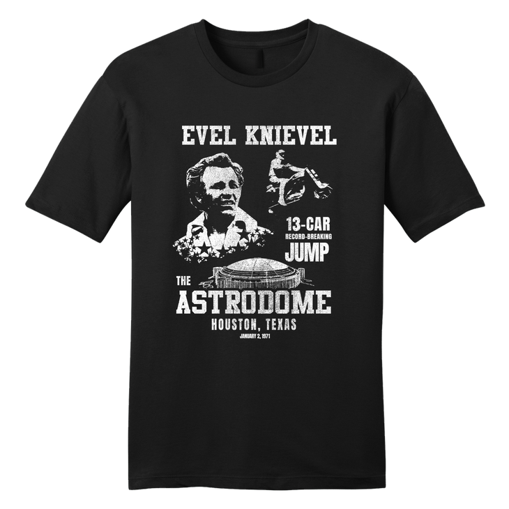 Astrodome Poster - Evel Knievel