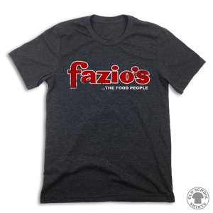 Fazio's The Food People - Old School Shirts- Retro Sports T Shirts