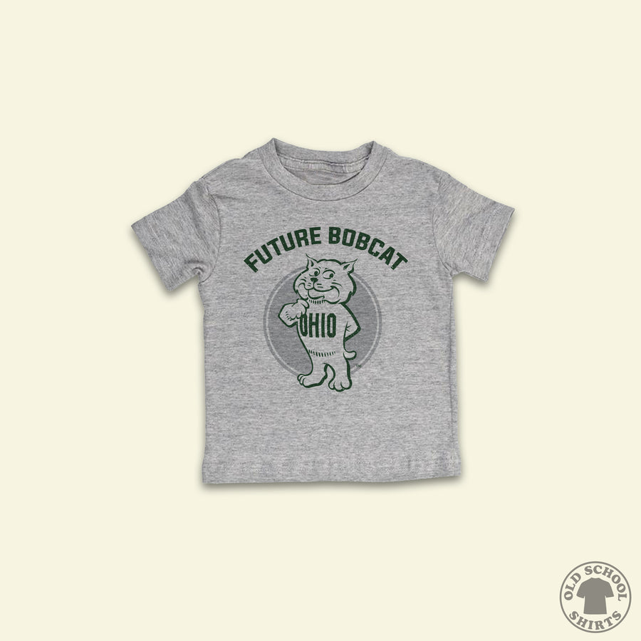 Future Bobcat - Youth Sizes - Old School Shirts- Retro Sports T Shirts