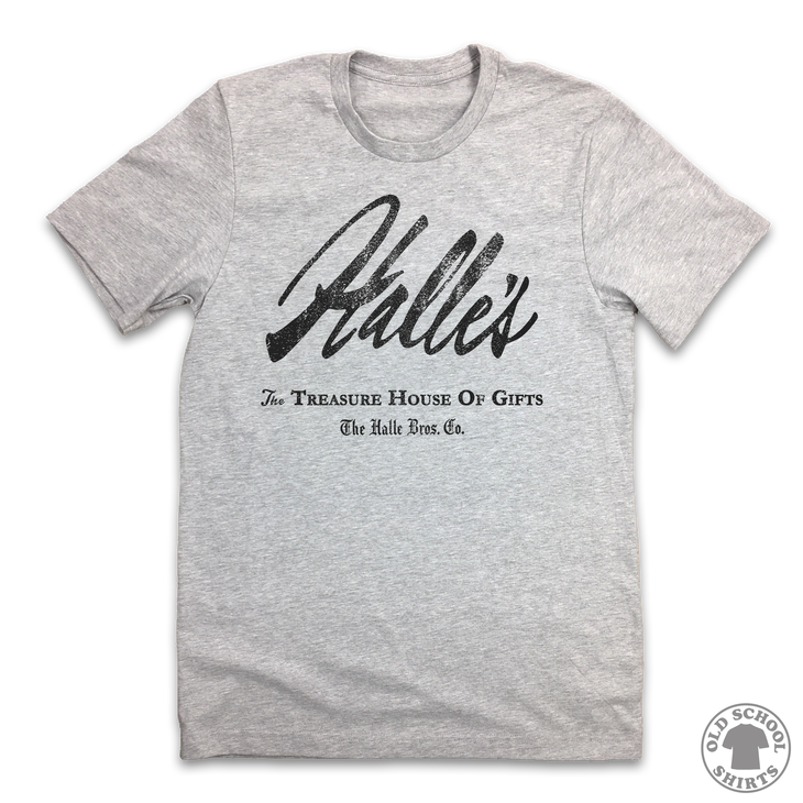 Halle's Department Store - Old School Shirts- Retro Sports T Shirts