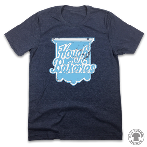 Hough Bakeries - Old School Shirts- Retro Sports T Shirts