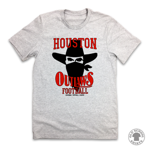 Houston Outlaws - Old School Shirts- Retro Sports T Shirts