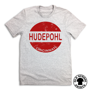 Hudepohl Vintage Logo - Old School Shirts- Retro Sports T Shirts