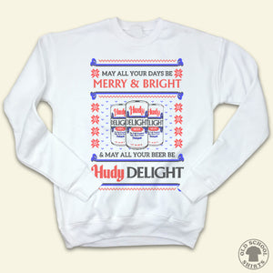 Hudy Delight - Ugly Christmas Sweater - Old School Shirts- Retro Sports T Shirts