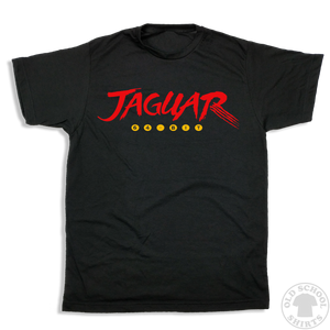 Jaguar Video Game Console - Old School Shirts- Retro Sports T Shirts