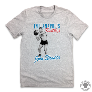 John Wooden - Old School Shirts- Retro Sports T Shirts
