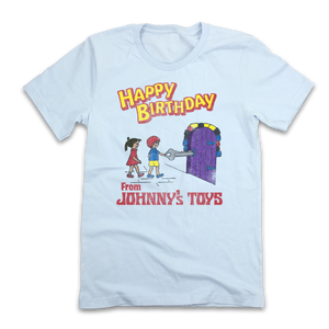 Johnny's Toys - Old School Shirts- Retro Sports T Shirts