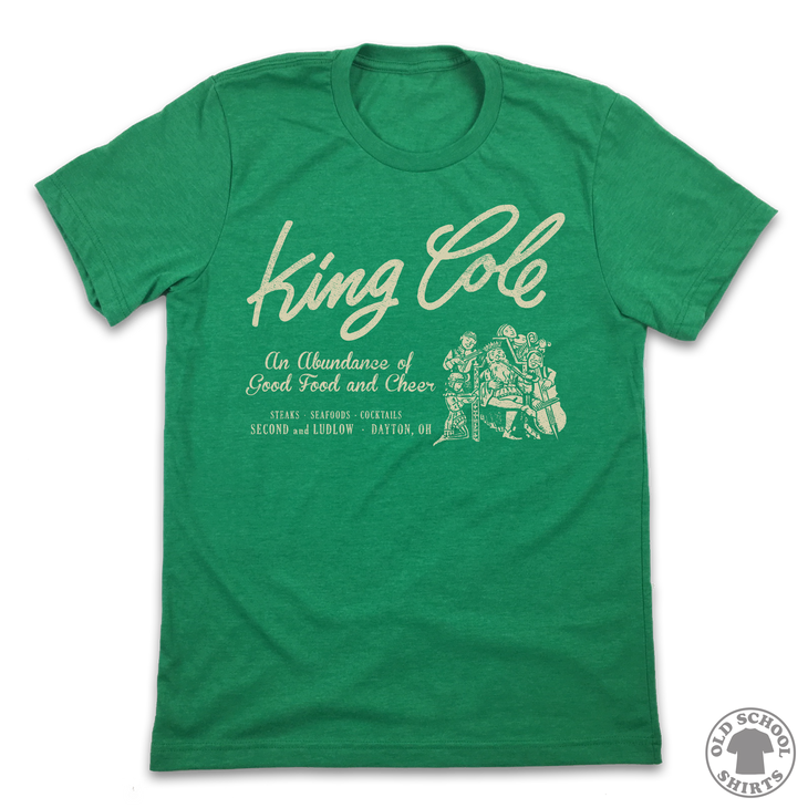 King Cole - Old School Shirts- Retro Sports T Shirts