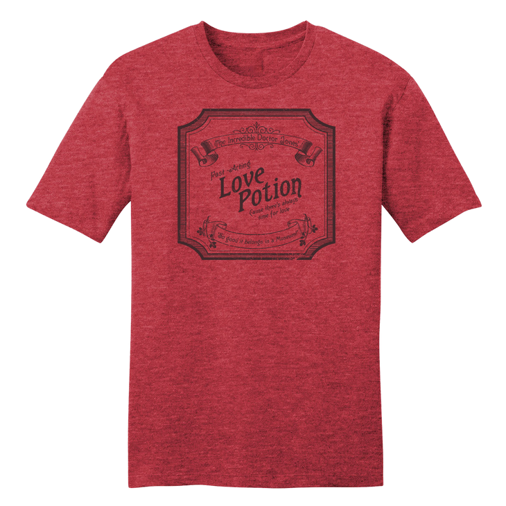 Dr. Jones Love Potion - Vintage Valentine's Day Tee