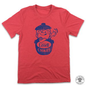 Lenell Cookies - Old School Shirts- Retro Sports T Shirts