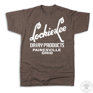 Lockie-Lee Dairy Products - Old School Shirts- Retro Sports T Shirts