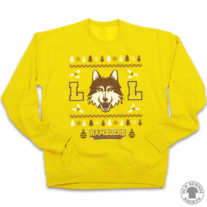 Loyola University Chicago Ramblers Sweatshirt - Old School Shirts- Retro Sports T Shirts