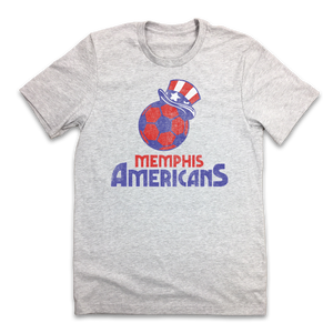 Memphis Americans - Indoor Soccer - Old School Shirts- Retro Sports T Shirts