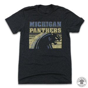 Michigan Panthers - Old School Shirts- Retro Sports T Shirts