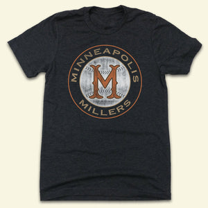 Minneapolis Millers - Old School Shirts- Retro Sports T Shirts