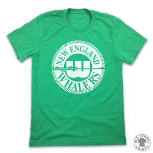 New England Whalers - Old School Shirts- Retro Sports T Shirts