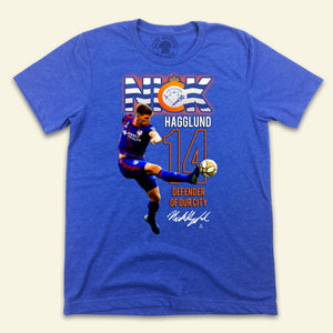 Official Nick Hagglund MLSPA Tee