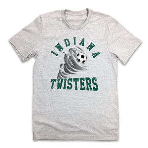 Indiana Twisters Soccer - Old School Shirts- Retro Sports T Shirts