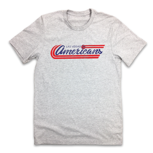 Las Vegas Americans - Old School Shirts- Retro Sports T Shirts