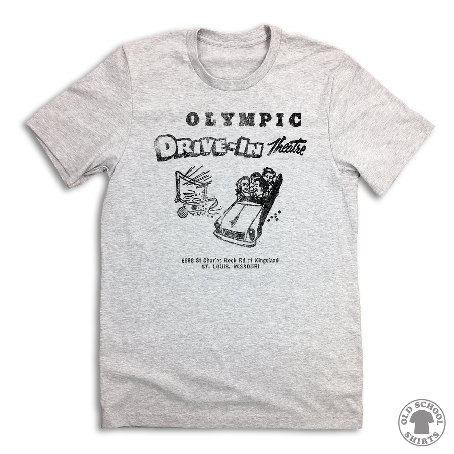 Olympic Drive-In Theatre T-shirt