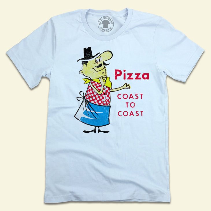 Pizza Coast to Coast T-shirt