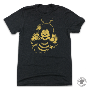 Burger Queen's Queenie Bee - Old School Shirts- Retro Sports T Shirts