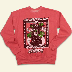 Road Warriors Ugly Christmas Sweatshirt