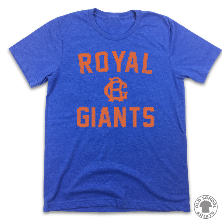 Brooklyn Royal Giants - Old School Shirts- Retro Sports T Shirts
