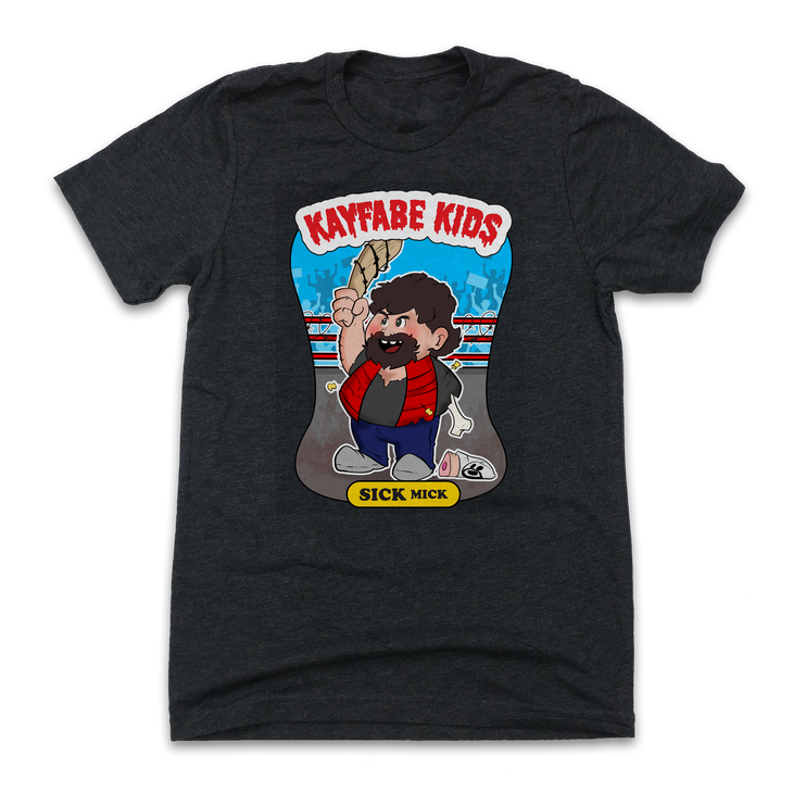 Kayfabe Kids - Sick Mick - Old School Shirts- Retro Sports T Shirts
