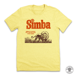 Simba Carbonated Soda T-shirt