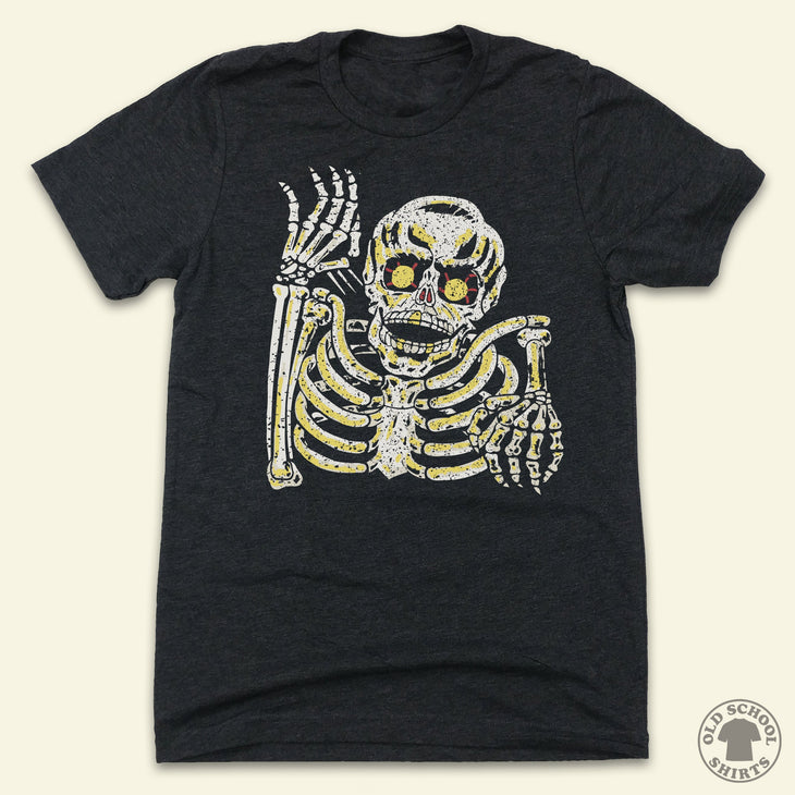 Retro Skeleton Halloween Costume