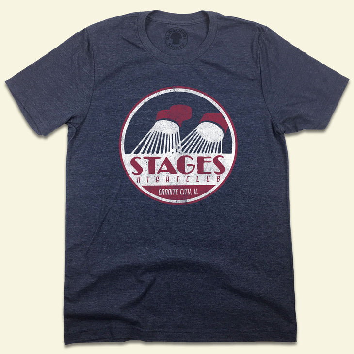 Stages Nightclub St. Louis, MO Granite City, IL T-shirt