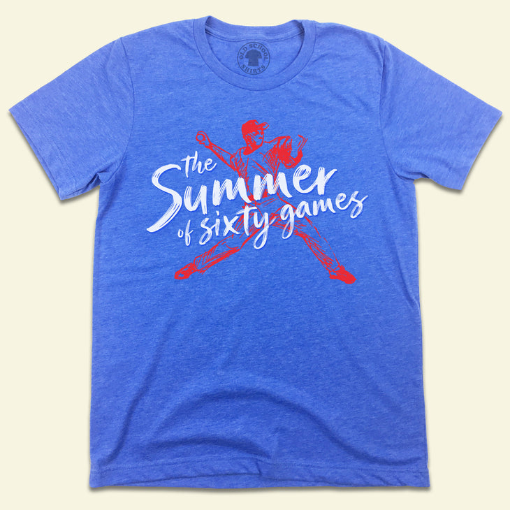 The Summer of Sixty Games Cubs T-shirt