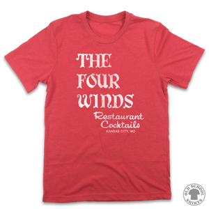 Four Winds Restaurant - Old School Shirts- Retro Sports T Shirts