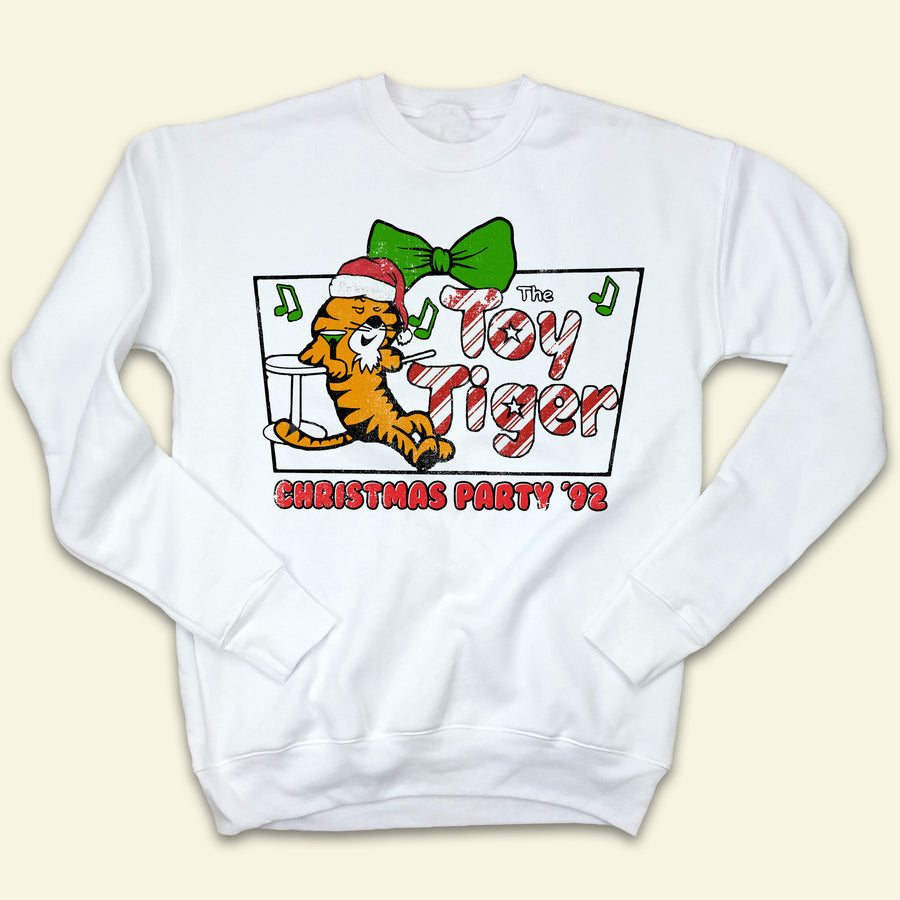The Toy Tiger Christmas Party '92 Ugly Sweatshirt