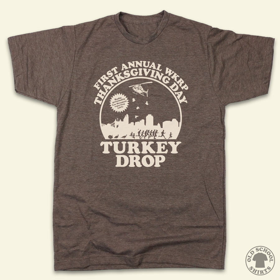 "The Official WKRP ""Turkey Drop"" Tee"