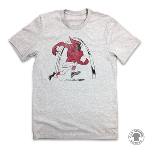 Cards Football Retro Logo - Old School Shirts- Retro Sports T Shirts
