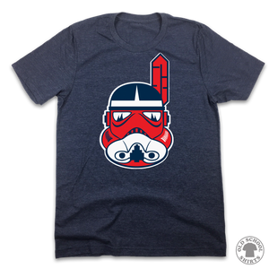 Cleveland Tribe Trooper - Old School Shirts- Retro Sports T Shirts